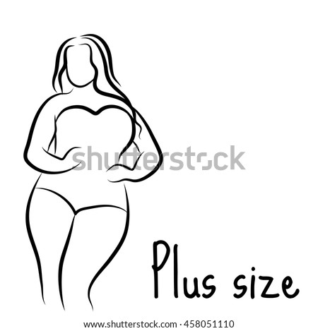 Very African american plus size fat curvy women