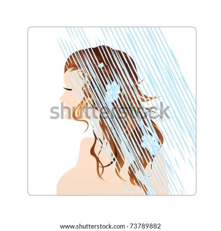 Cartoon Hair Wash