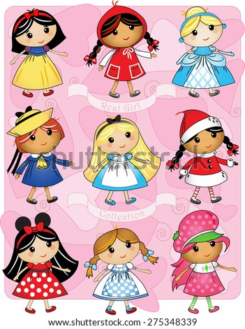 girls as characters collection