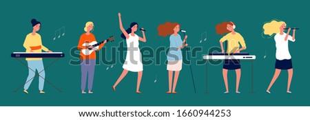 girls band female musicians