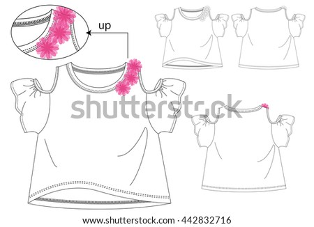 girls t shirt templates   cute