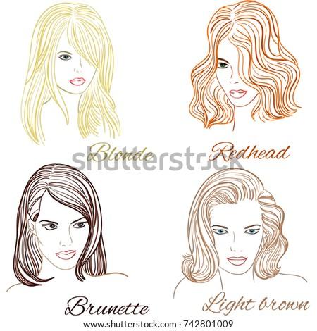 girls with hairstylesblonde