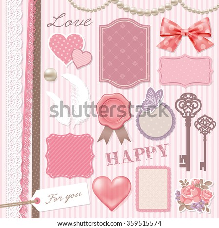 girly design elements