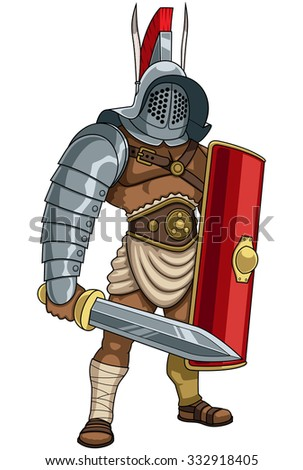 gladiator  illustration of