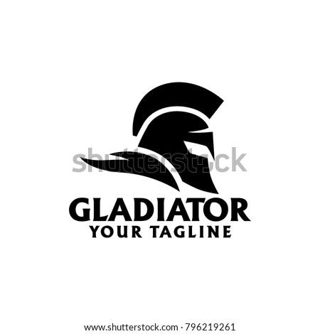 gladiator logo design