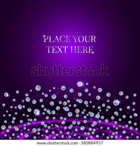 glamorous banner for your text