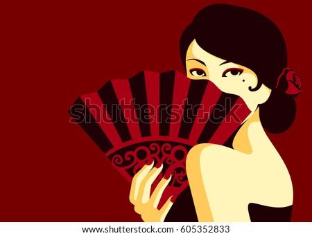 glamorous flamenco fashion