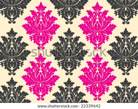 glamour wallpaper. stock vector : Glamour