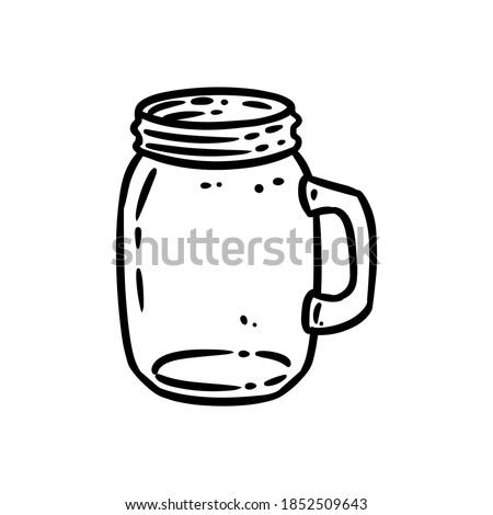 glass jar doodle image kitchen