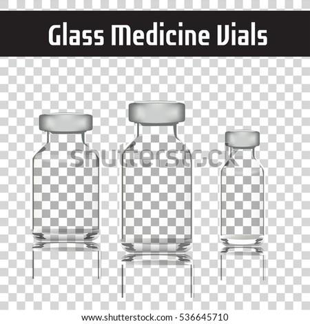 glass medicine vials botox