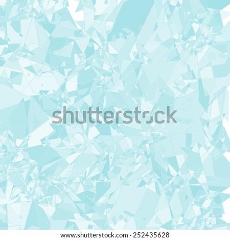 glass shard ice abstract