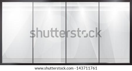 glass showcase glossy feed