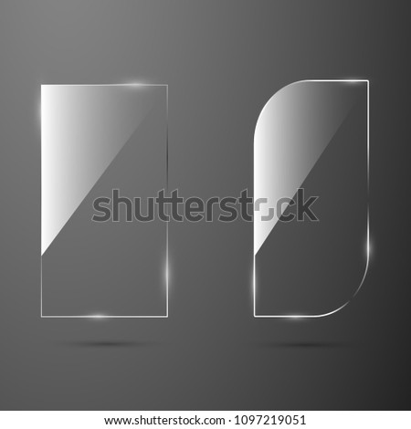 stock-vector-glass-texture-banner-for-web