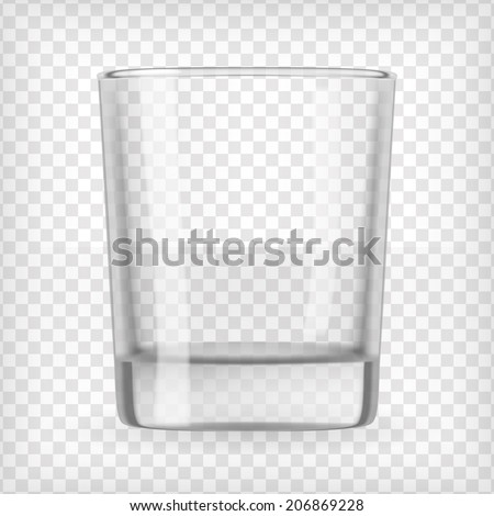 glass transparent vector