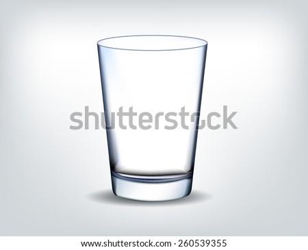 glass transparent vector