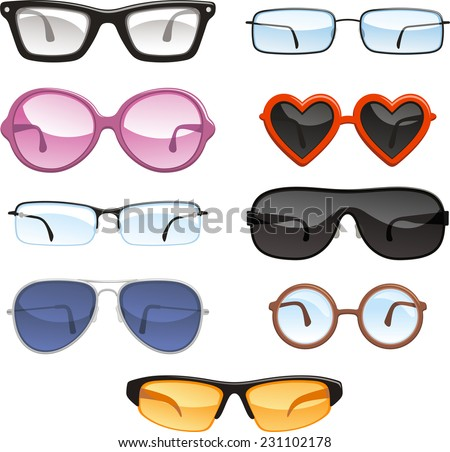glasses eye wear eye glasses