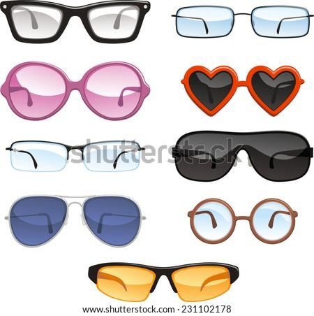 glasses eye wear eye glasses