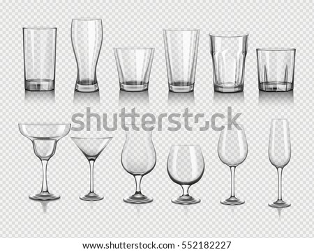 glasses for drinks
