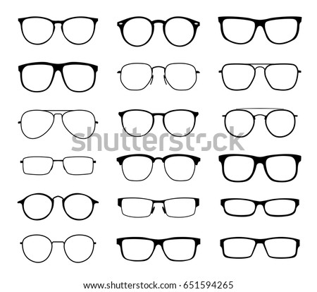 glasses for sight with a