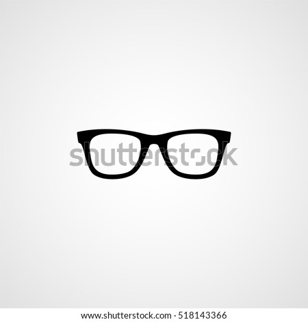 Glasses icon Foto stock ©