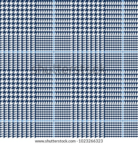 stock-vector-glen-plaid-vector-pattern-in-navy-white-and-blue-overcheck-classic-houndstooth-seamless-textile