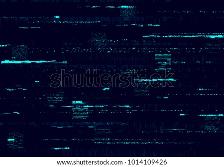 Glitch background. Abstract noise effect, error signal, television technical problem. Vector illustration.