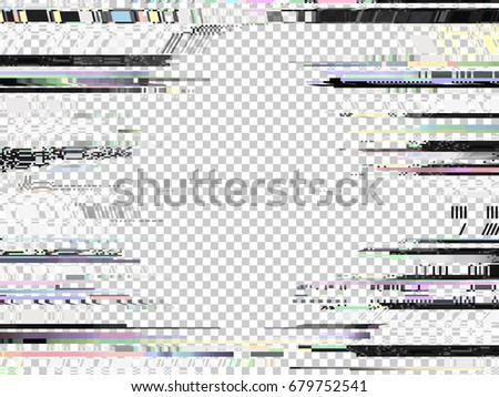glitch background computer