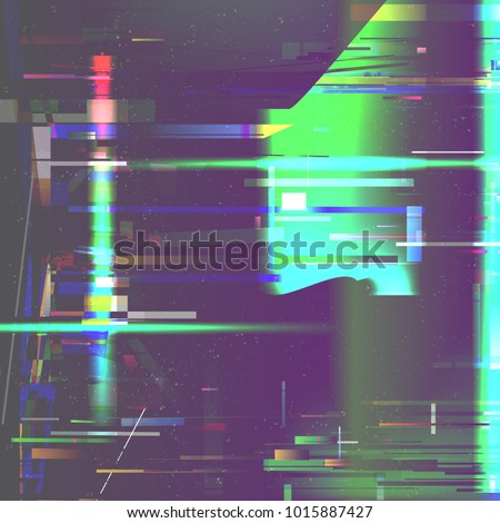glitch pixel noise abstract