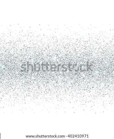 glitter background silver