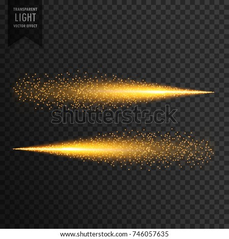 glitter light trail sparkles