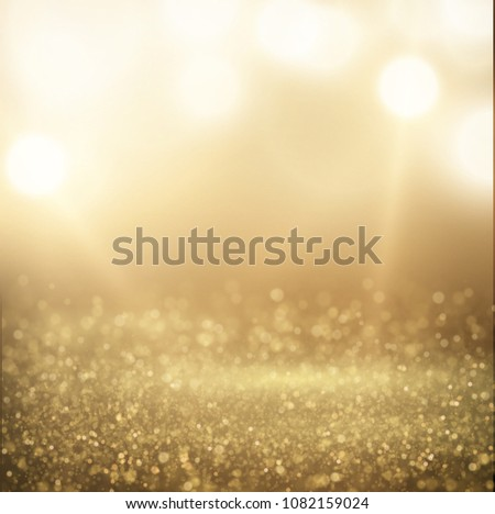 Glittering dust spotlight, stage light with shiny particles on the floor. vector eps10. #1082159024