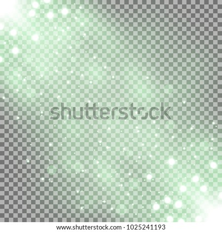 glittering particles background