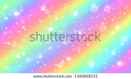 glitters rainbow sky shiny