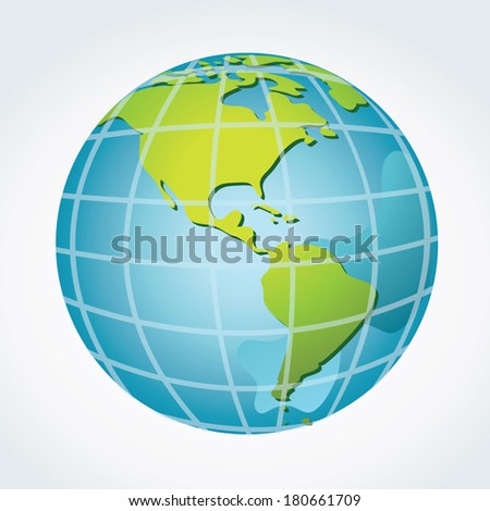 global  america continents