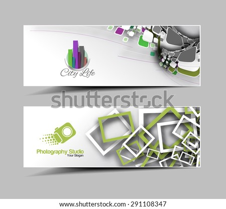 Corporate web header template download free vector art stock global business ad web banner header layout template accmission Gallery