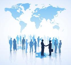 Global Business Vector