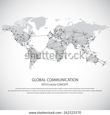 global communication   eps10