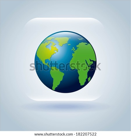 global design over gray background, vector illustration