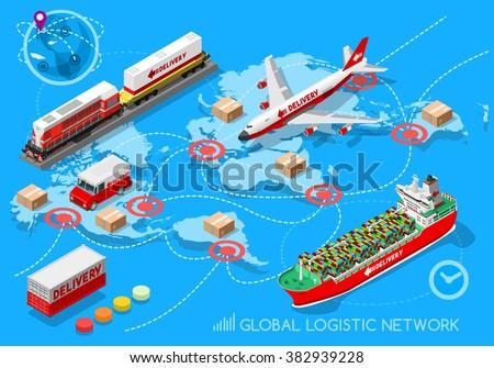 global logistic isometric