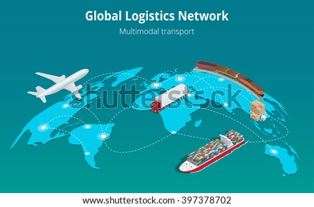global logistics network flat