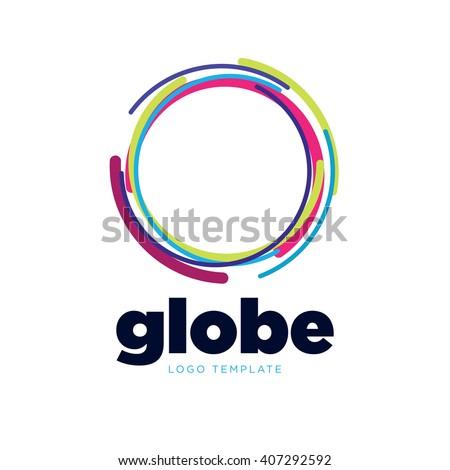 global logo globe logo