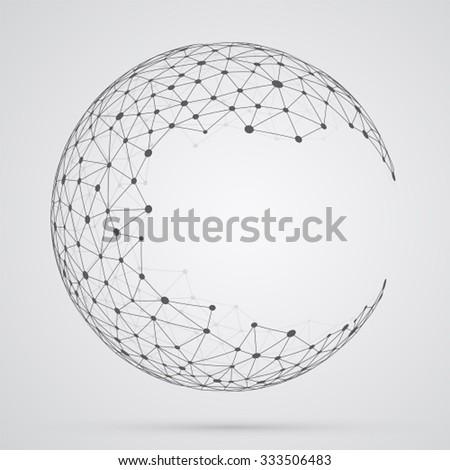 global mesh sphere abstract