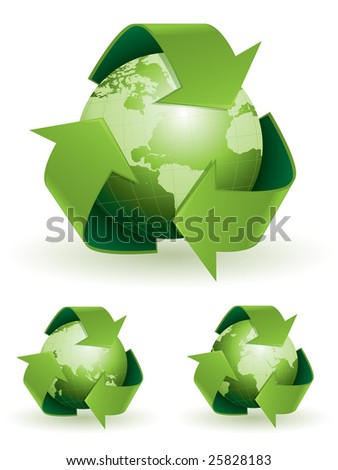 Global recycling symbols