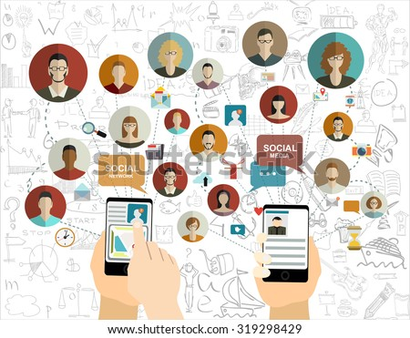 global social network abstract
