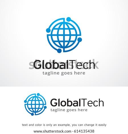 Global Tech Logo Template