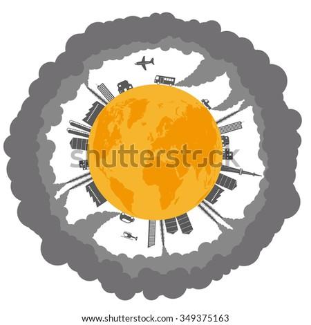 global warming and various