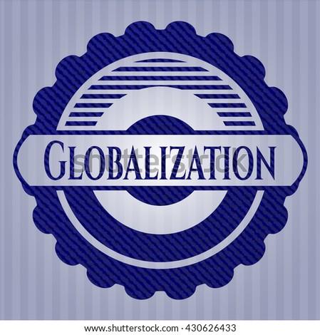 Globalization jean background