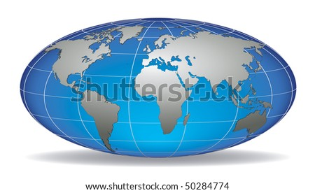 World map with latitude and longitude download free vector art globe earth with detailed silver world map placed in five layers gumiabroncs Choice Image