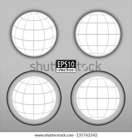 Globe Icon | EPS10 Vector