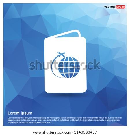 globe icon   vector icon